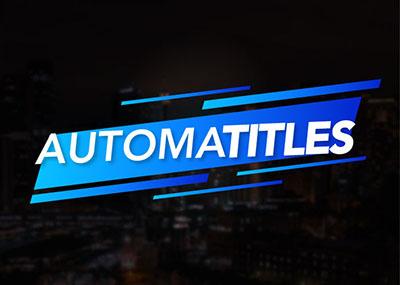 Automatitles