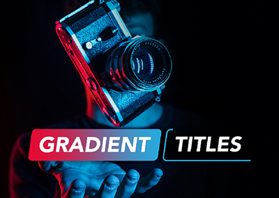 Gradient Titles