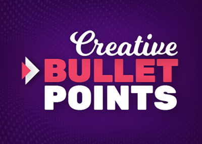 Creative Bullet Points