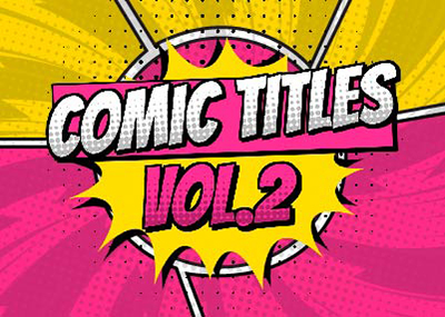 Comic Titles Vol. 2