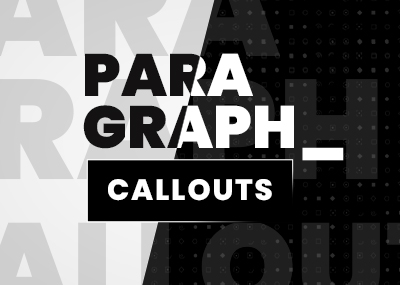 Paragraph Callouts